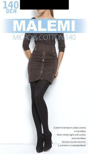 Колготки MICRO&COTTON 140 Malemi 0/60