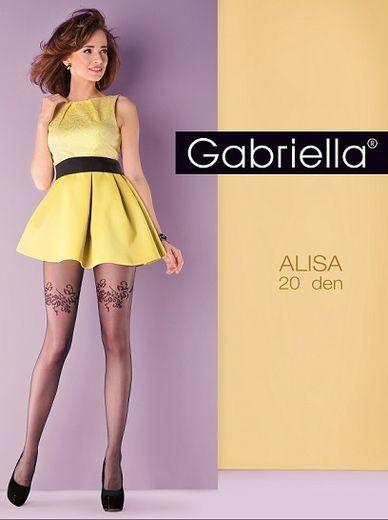 Колготки ALISA 20 GABR/40 (NERO, 4)