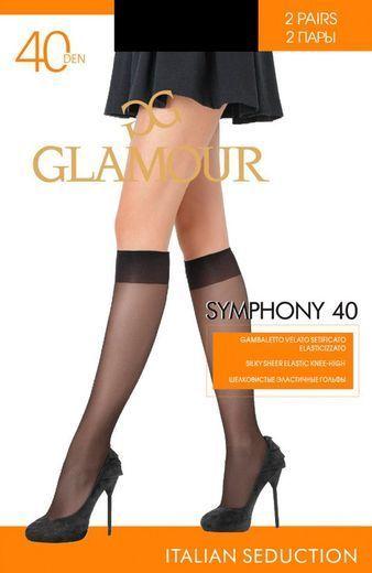 Гольфы SYMPHONY 40 GB*2 Glamour 18/180