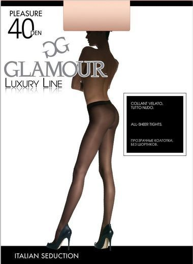 Колготки PLEASURE 40 Glamour 3/30