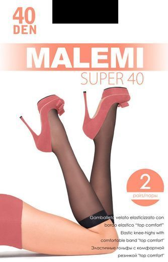 Гольфы SUPER 40 GB lyc(2п) Malemi 18/180