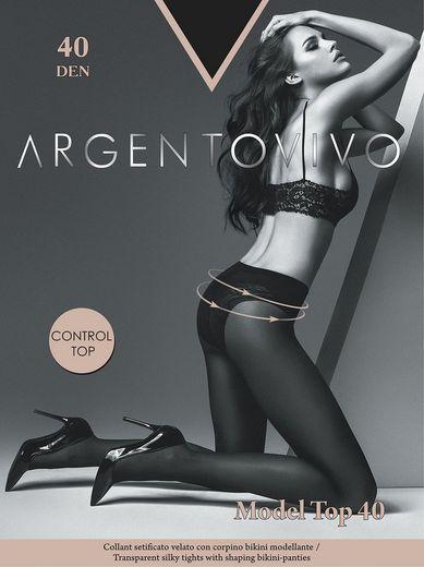 Колготки MODEL TOP 40 Argento 5/50