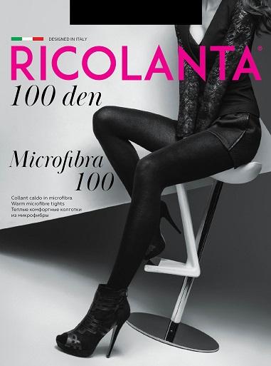 Колготки MICROFIBRA 100 Ricolanta 8/80 (NERO, 5)