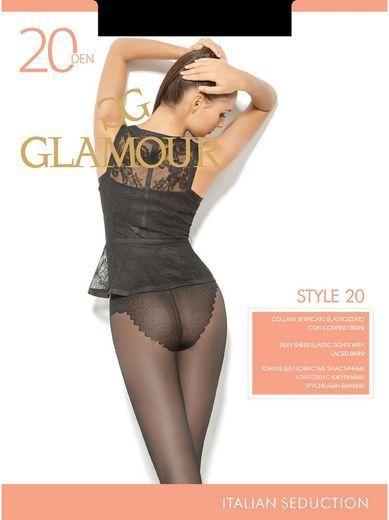 Колготки STYLE 20 Glamour 6/72