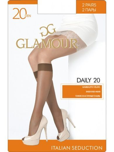 Гольфы DAILY 20 GB*2 Glamour 18/180