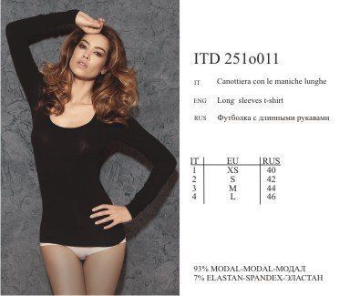 ITD 251o011 Майка Actual 2