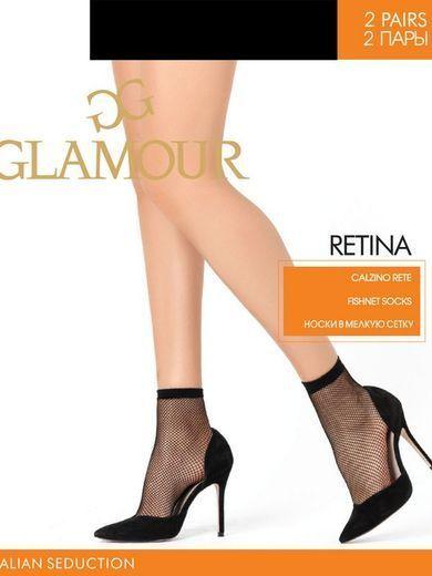Носки RETINA CZ*2 Glamour 22/220