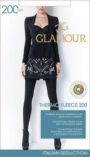 Колготки THERMO FLEECE 200 Glamour 1/45