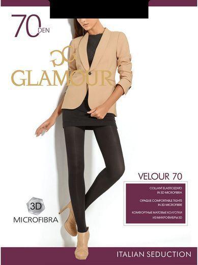 Колготки VELOUR 70 Glamour 6/72 (NERO, 5)