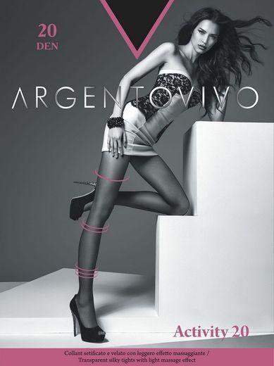Колготки ACTIVITY 20 Argento 5/50