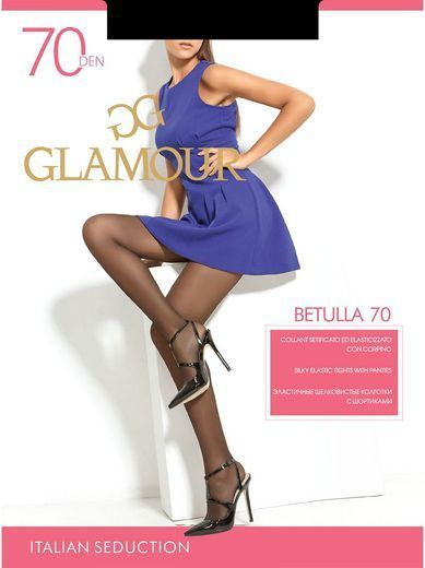 Колготки BETULLA 70 Glamour 6/72