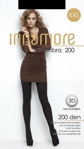 Колготки MICROFIBRA 200 XXL Inn 0/60 (NERO, 6)