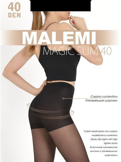 Колготки MAGIC SLIM 40 Malemi 8/80 (NERO, 5)