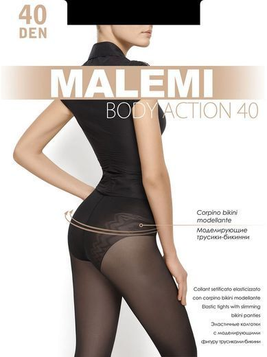 Колготки BODY ACTION 40 Malemi 8/80