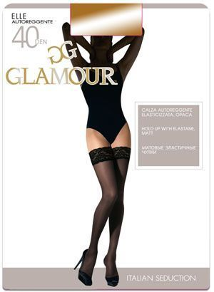 Чулки ELLE 40 AUT Glamour 6/36