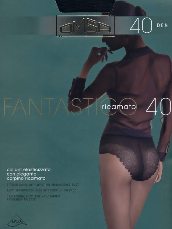 Колготки FANTASTICO 40 Omsa 10/50