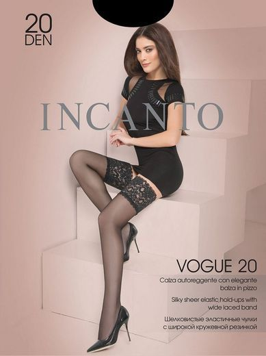 Чулки VOGUE 20 AUT Incanto 8/80
