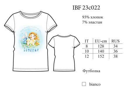 IBF 23c022 футболка Basic fashion