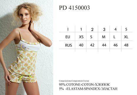 PD 4150003 Пижама Moonflower