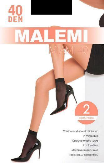 Носки MIAMI 40mic calzino(2п) Malemi 24/240