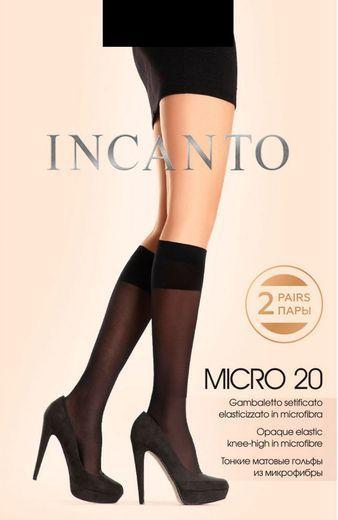 Гольфы MICRO 20 GB(2п) Incanto 18/180