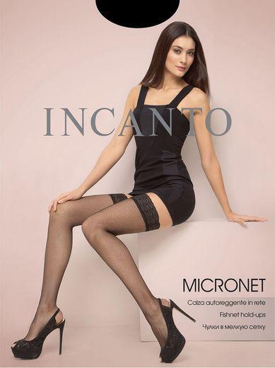 Чулки MICRONET AUT(м.сет.) Incanto 10/100