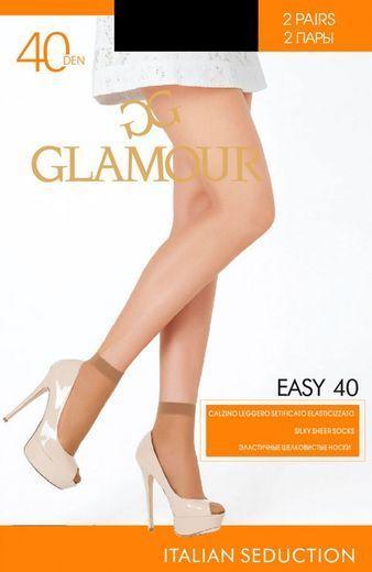 Носки EASY 40 CZ*2 Glamour 24/240