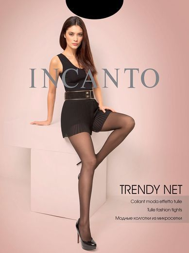 Колготки TRENDY NET Incanto 8/80 (NERO, 4)