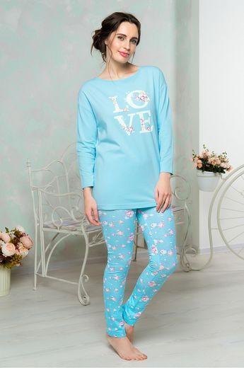 853 Mia Cara (футболка д/р, брюки) Shabby Chic 42-44/46-48/50-52/54-56