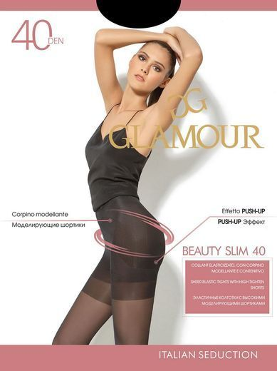 Колготки BEAUTY SLIM 40 Glamour 6/72
