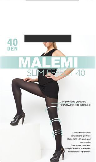 Колготки SLIM EFFECT  40 Malemi 8/80