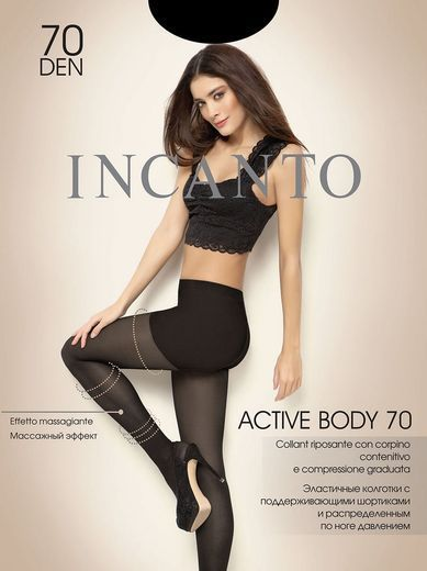 Колготки ACTIVE BODY 70 Incanto 8/80