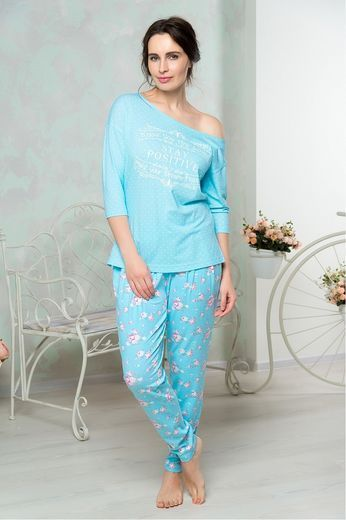 852 Mia Cara (футболка д/р, брюки) Shabby Chic 42-44/46-48/50-52/54-56