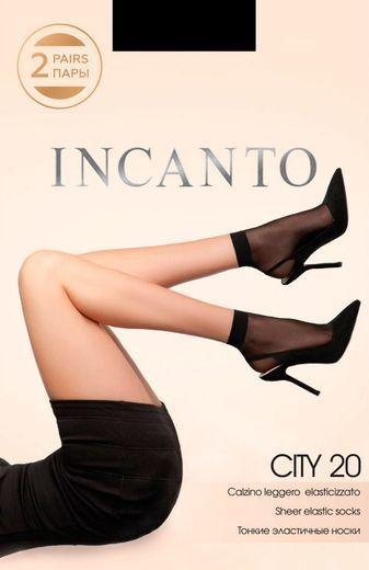 Носки CITY 20 lyc(2п) Incanto 24/240