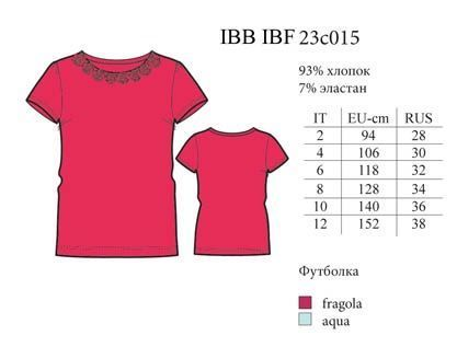 IBF 23c015 футболка Basic fashion