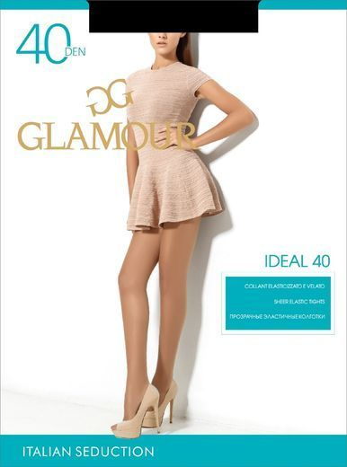 Колготки IDEAL 40 Glamour 12/96