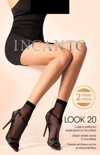 Носки LOOK 20 micro(2п) Incanto 24/240